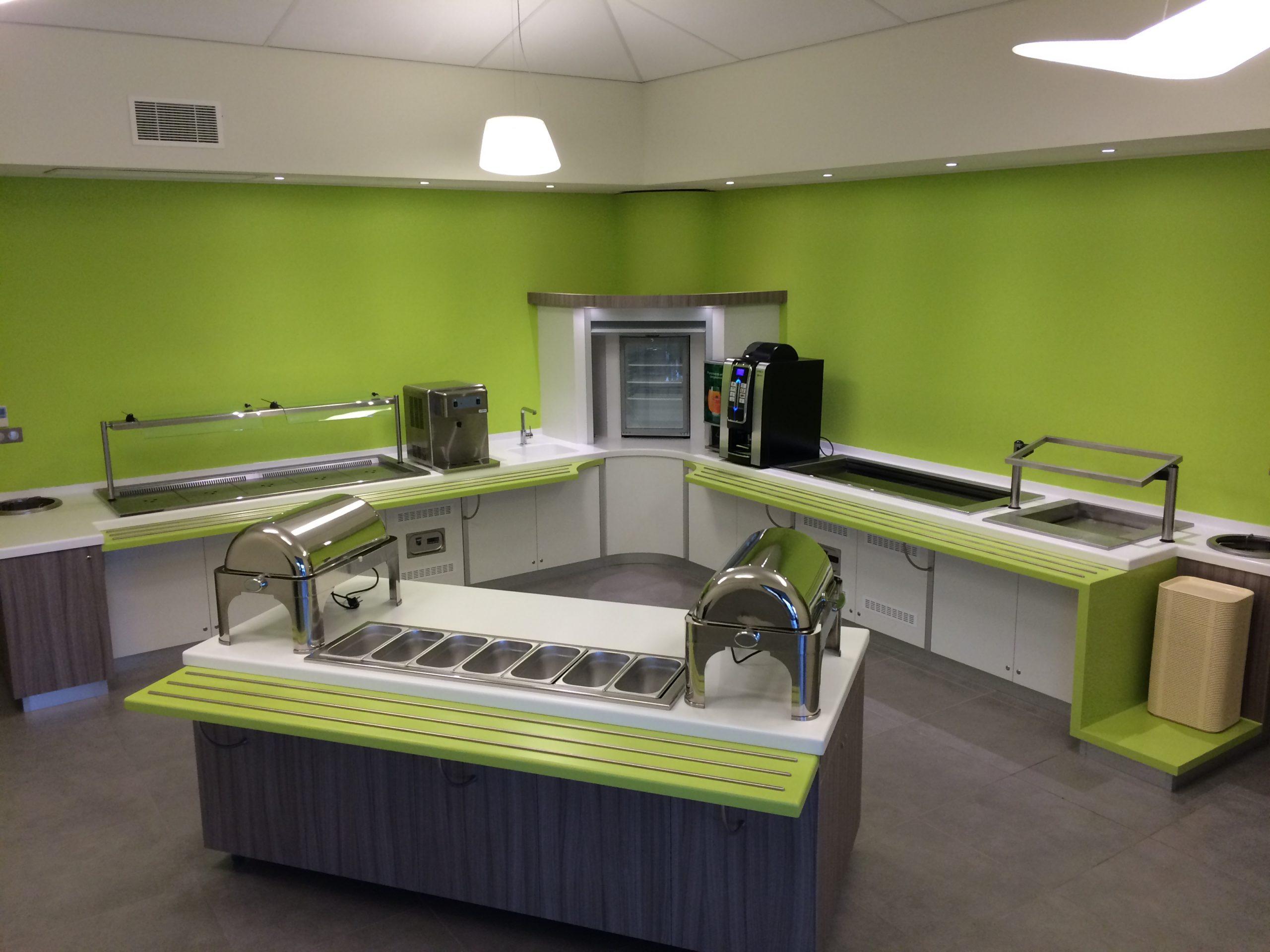 Agencement et création de meubles pour l'espace restauration
