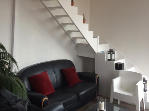 Escalier et rangements