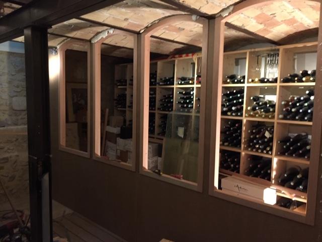 Création d'une cave à vin