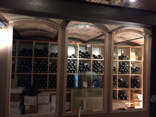 Création cave à vin