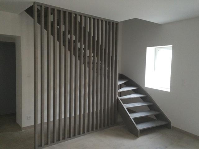 Escalier et claustra