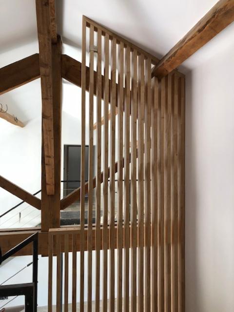 Garde corps pour escaliers