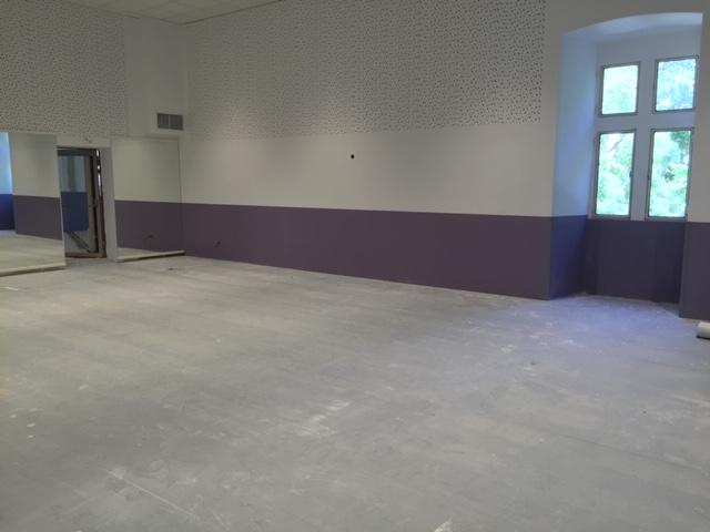 Rénovation studio de danse