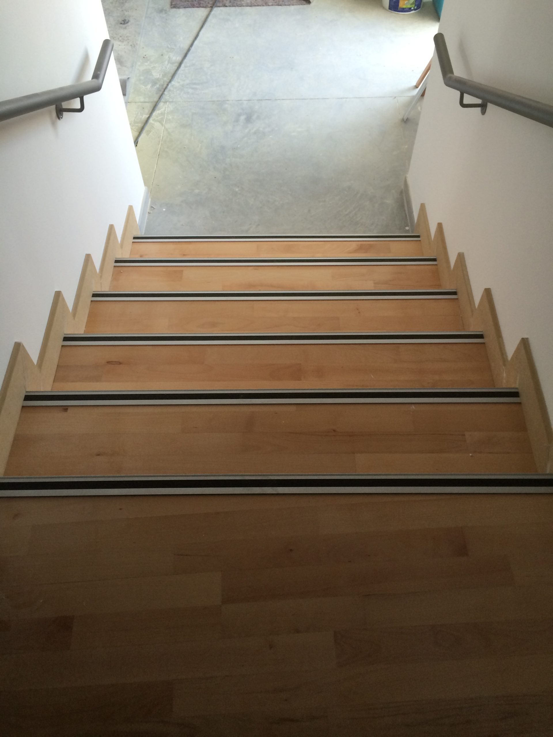 Escalier parquet en bois