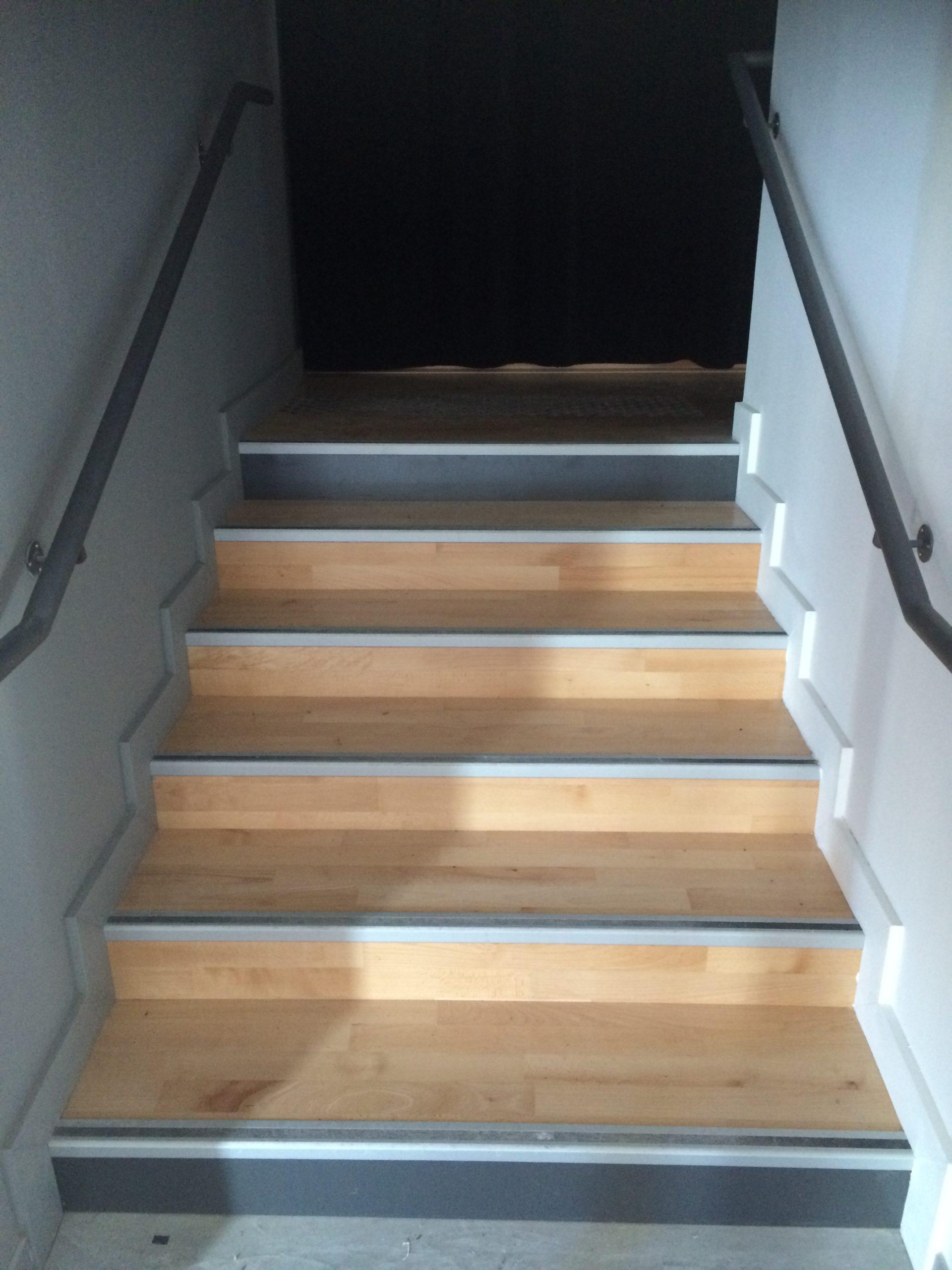 Escaliers parquet en bois